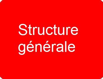 Structure générale