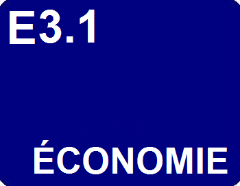 E3.1 : Économie