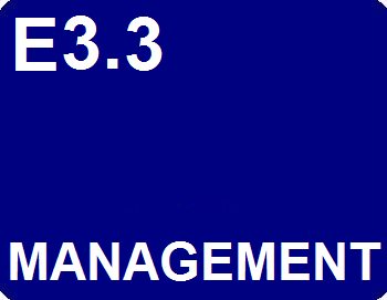 E3.3 : Management