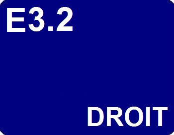 E3.2 : Droit