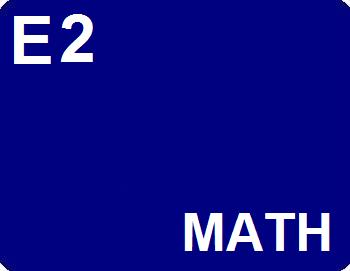 E2 : Math