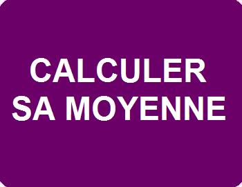 Calculer sa moyenne